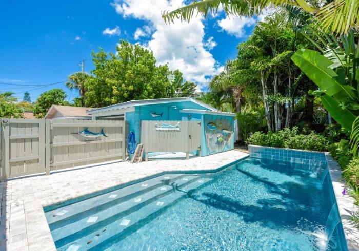 An Ocean Blue House