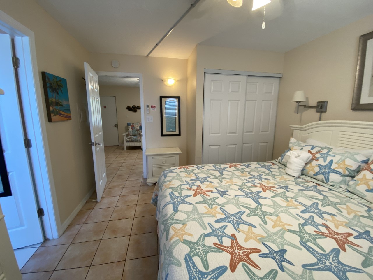 Superior King with Sofa Bed- sleeps 4