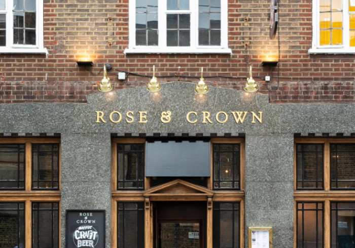 PubLove The Rose and Crown