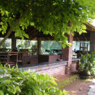 Alfresco dining and lounge