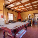 Great Room with regulation pool table